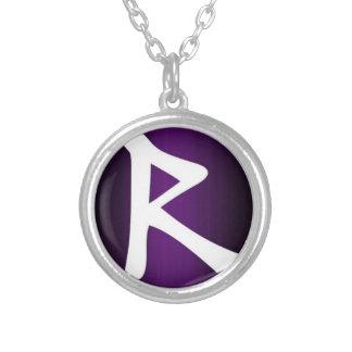 RaidoのRuneのネックレス シルバープレートネックレス
