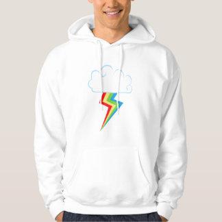 Rainboltのフード付きスウェットシャツ パーカ