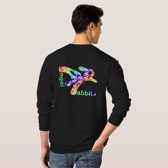 Rainbow AngelRabbits in AngelRabbit Tシャツ