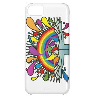 Rainbow_In_Your_Hands iPhone5Cケース