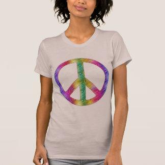 Rainbow Peace Tシャツ