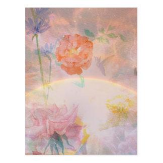 Rainbow Sky ポストカード