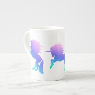 Rainbow Unicorn Bone China Mug ボーンチャイナカップ