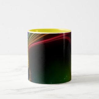 rainbow_woman ツートーンマグカップ