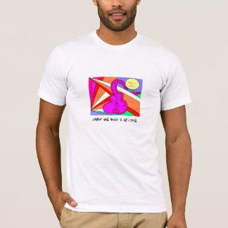 RainbowGuitar、色および音楽は私が必要とするすべてです Tシャツ