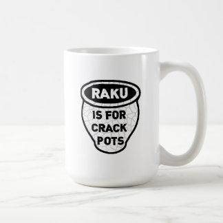 Rakuは一流のポットの陶工のためです コーヒーマグカップ