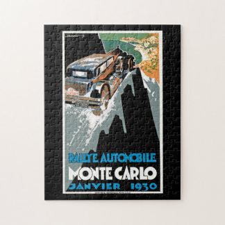 Rallyeの自動車モンテカルロ ジグソーパズル