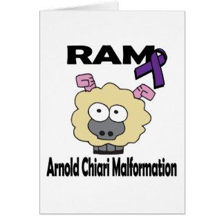 RAMのアーノルドChiariの奇形 カード