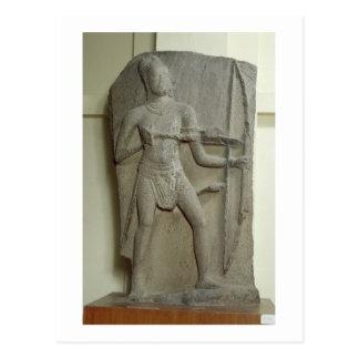 Rama、Kanchipuram、タミル・ナードゥ州のPallavaの王朝(gr ポストカード
