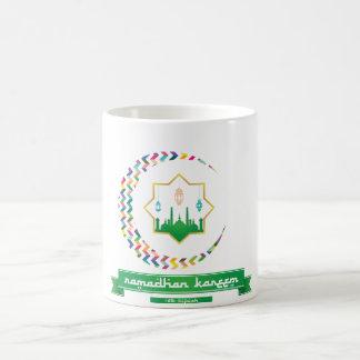 Ramadhanのkareemのマグ コーヒーマグカップ