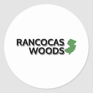 Rancocasの森、ニュージャージー ラウンドシール