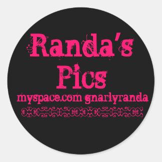 Randaの写真 ラウンドシール