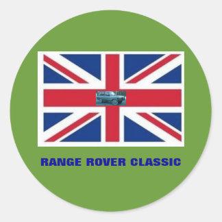 RANGE ROVERのクラシック ラウンドシール