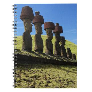 Rapa Nuiの人工物、イースター島 ノートブック