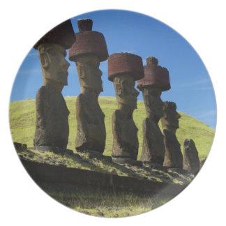 Rapa Nuiの人工物、イースター島 プレート