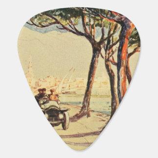 Rapallo、イタリア-ヴィンテージのイタリア人の芸術 ギターピック