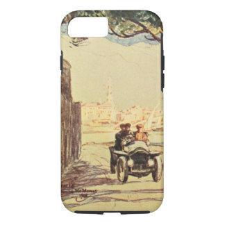 Rapallo、イタリア-ヴィンテージのイタリア人の芸術 iPhone 8/7ケース
