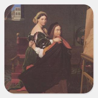 RaphaelおよびFornarinaの芸術 スクエアシール
