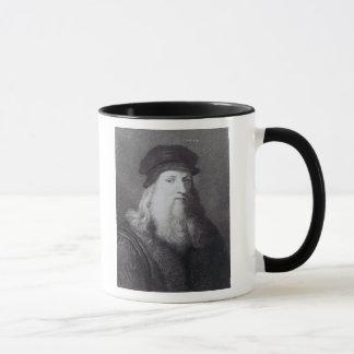Raphaelによって刻まれるレオナルド・ダ・ヴィンチ マグカップ