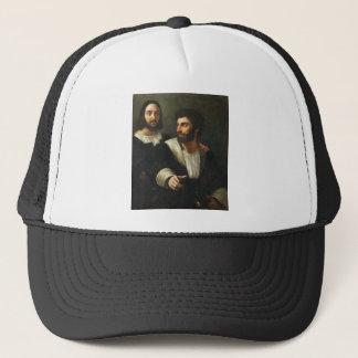 Raphaelによる友人との自画像 キャップ