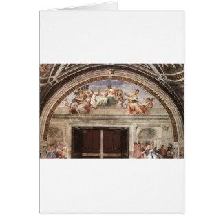 Raphaelによる美徳 カード