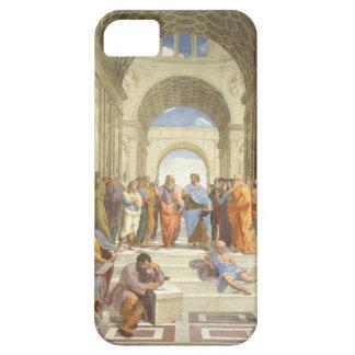 Raphaelのアテネの学校 iPhone SE/5/5s ケース
