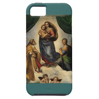 "Raphaelのクラシックな""Sistineマドンナ"" (1513年頃) iPhone SE/5/5s ケース"