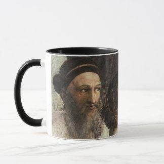 Raphaelのヴィンテージのルネサンスによるアテネの学校 マグカップ