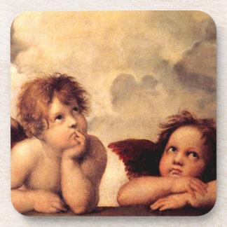Raphaelの天使のSistineマドンナのコースター コースター