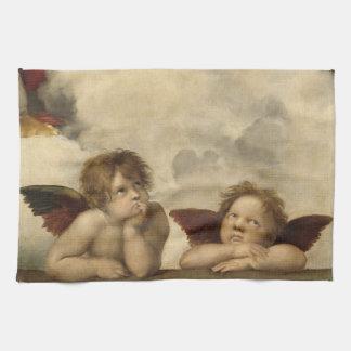 Raphaelの天使 キッチンタオル
