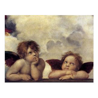 Raphaelの天使 ポストカード