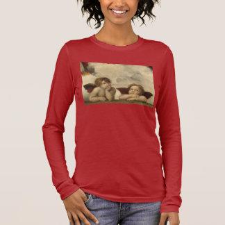 Raphaelの天使 長袖Tシャツ