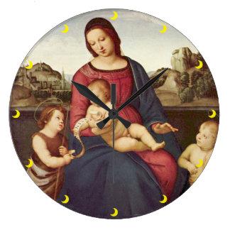 Raphaelの柱時計 ラージ壁時計