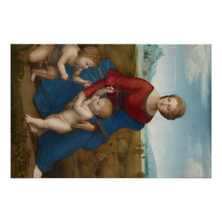 Raphaelの芸術作品の絵画 ポスター