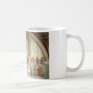 Raphael -アテネの学校 コーヒーマグカップ