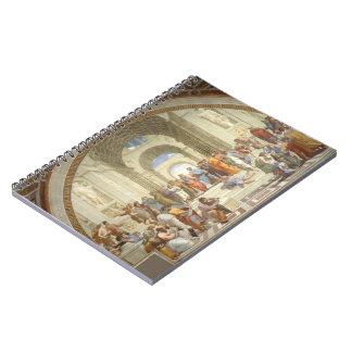 Raphael -アテネの学校 ノートブック