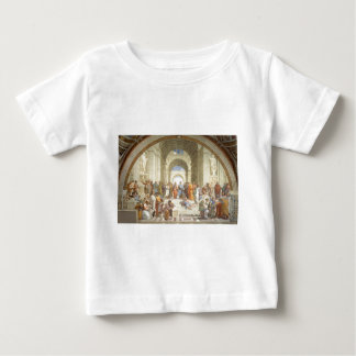 Raphael -アテネの学校 ベビーTシャツ