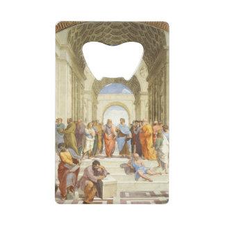 Raphael -アテネ1511年の学校 ウォレット 栓抜き