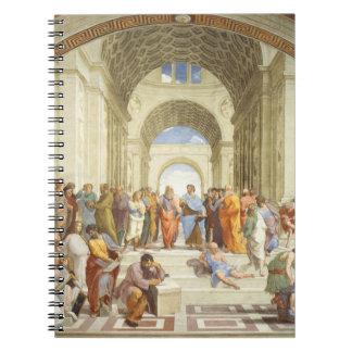 Raphael -アテネ1511年の学校 ノートブック