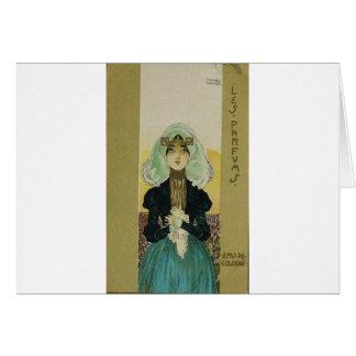 Raphael KirchnerによるParfums カード
