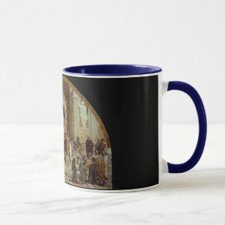 "Raphael's ""アテネの学校"" (1511年頃) マグカップ"