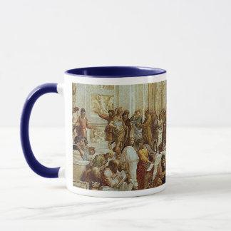 "Raphael's ""1511年頃アテネの学校""の詳細 マグカップ"