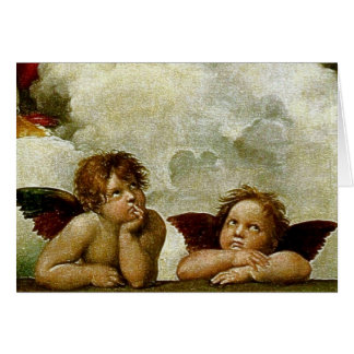 "Raphael's ""Sistineマドンナ"" (1513年頃) (詳細) カード"