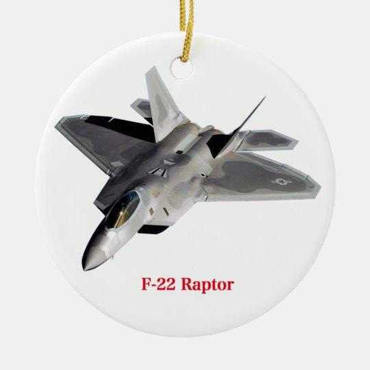 Raptor F-22 セラミックオーナメント
