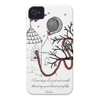 Rapunzelの非常に悪い毛日の場合 Case-Mate iPhone 4 ケース