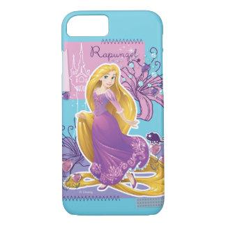 Rapunzel -芸術的なプリンセス iPhone 8/7ケース