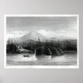 Raquette湖の眺め ポスター