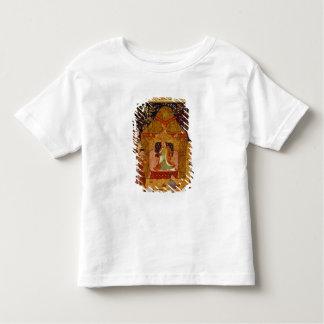 RashidのAl喧騒による彼のテントのGenghis Khan トドラーTシャツ