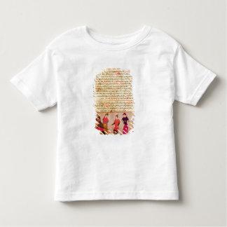 RashidのAl喧騒によるGenghis Khanおよび彼の息子 トドラーTシャツ