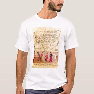 RashidのAl喧騒によるGenghis Khanおよび彼の息子 Tシャツ